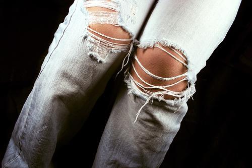 Je me souviens qu'on déchirait nos jeans nous-mêmes