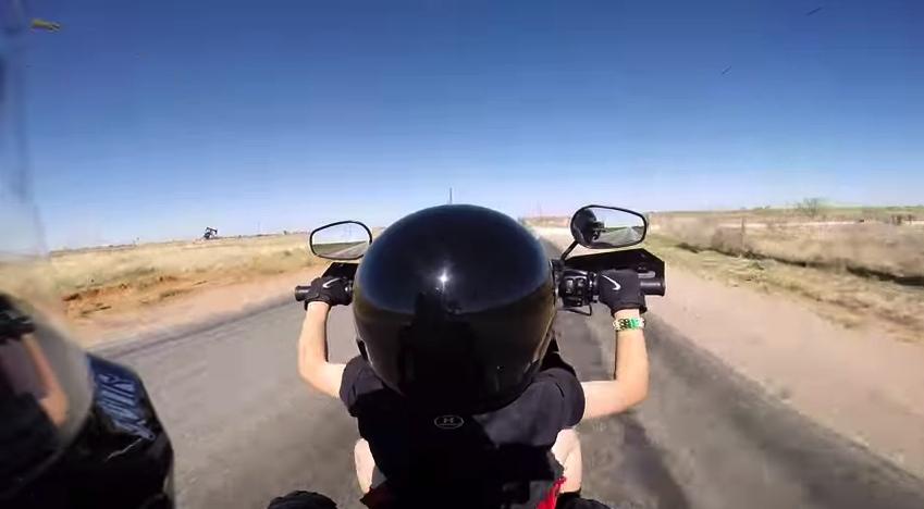 Je me souviens des virées à moto avec mon oncle Robert
