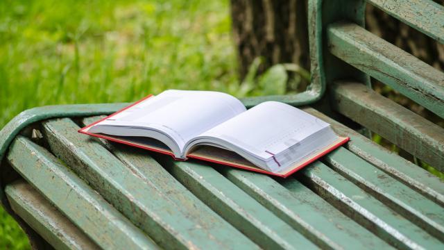 Je me souviens de mon père qui passait son temps à lire dans le jardin