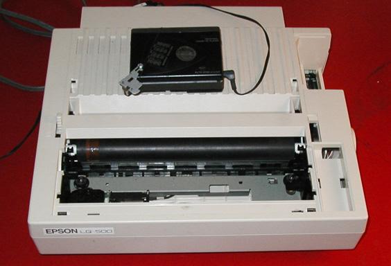 Je me souviens de ma 1ère imprimante